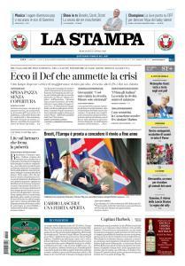 La Stampa Torino Provincia e Canavese - 10 Aprile 2019