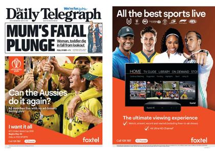 The Daily Telegraph (Sydney) – May 22, 2019