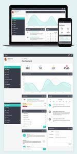 Quay - Bootstrap Admin Template - CM 765186