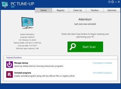 Large Software PC Tune-Up Pro 5.3.2.0 Multilingual