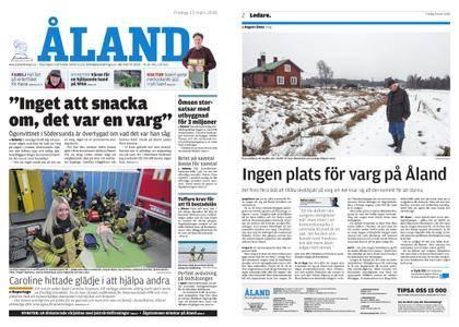 Ålandstidningen – 23 mars 2018