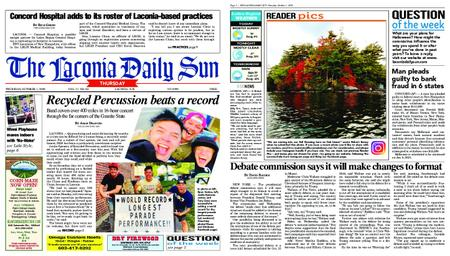 The Laconia Daily Sun – October 01, 2020