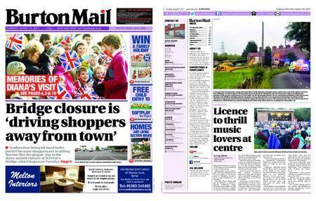 Burton Mail – August 31, 2017