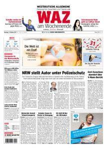 WAZ Westdeutsche Allgemeine Zeitung Oberhausen-Sterkrade - 21. Oktober 2017