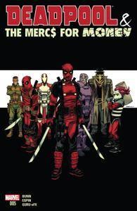 Deadpool  The Mercs For Money 05 of 05 2016 3 covers digital