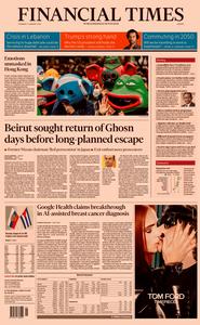 Financial Times Europe – 02 January 2020
