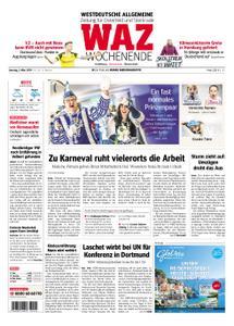 WAZ Westdeutsche Allgemeine Zeitung Oberhausen-Sterkrade - 02. März 2019