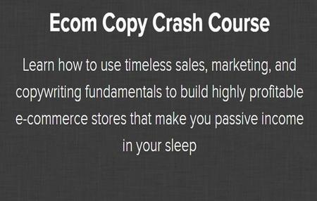 Nate Schmidt - Ecom Copy Crash Course