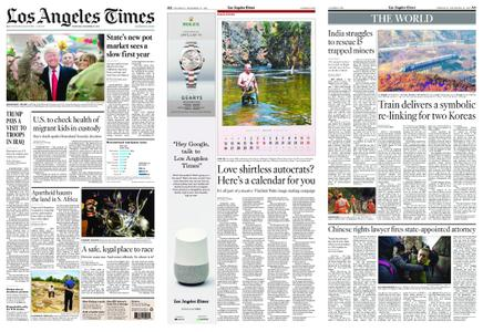 Los Angeles Times – December 27, 2018