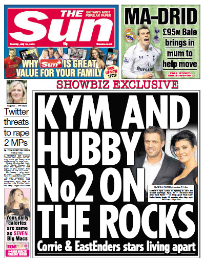 The SUN - Tuesday, July 30 - 2013