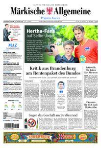 Märkische Allgemeine Prignitz Kurier - 14. Juli 2018