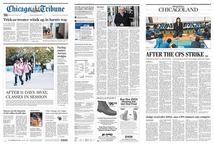 Chicago Tribune – November 02, 2019
