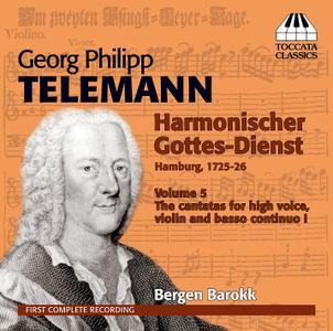 Bergen Barokk - Telemann: Harmonischer Gottes-Dienst, Vol. 5 (2013)