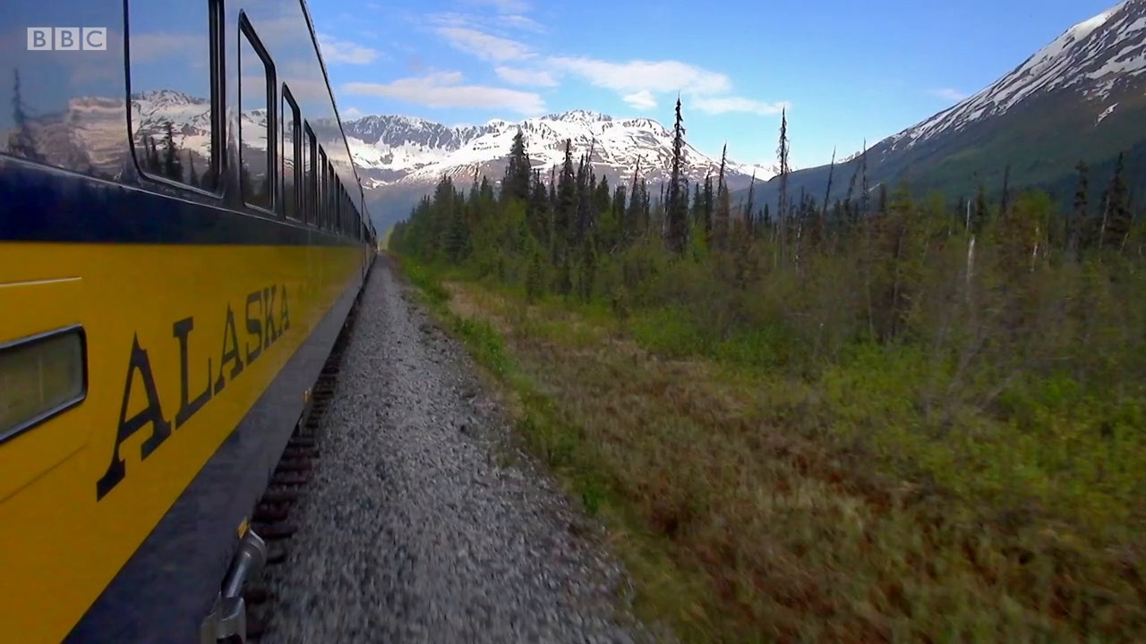 BBC - Great Alaskan Railroad Journeys Series 1 (2019)