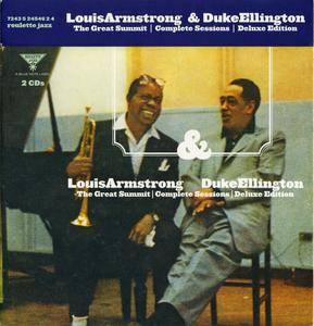 Louis Armstrong & Duke Ellington - The Great Summit Complete Sessions (1961) {2CD Ron McMaster 24-bit Deluxe Edition}