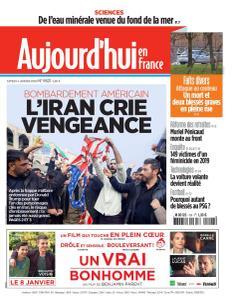 Aujourd'hui en France - 4 Janvier 2020