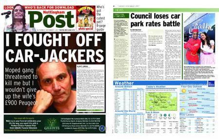 Nottingham Post – November 07, 2017