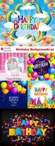 Vectors - Birthday Backgrounds 52