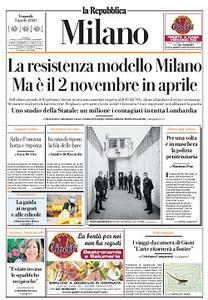 la Repubblica Milano - 3 Aprile 2020