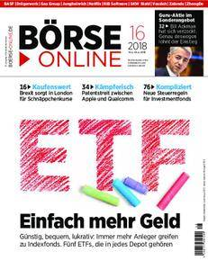 Börse Online - 19. April 2018