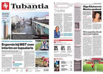 Tubantia - Enschede – 07 september 2017