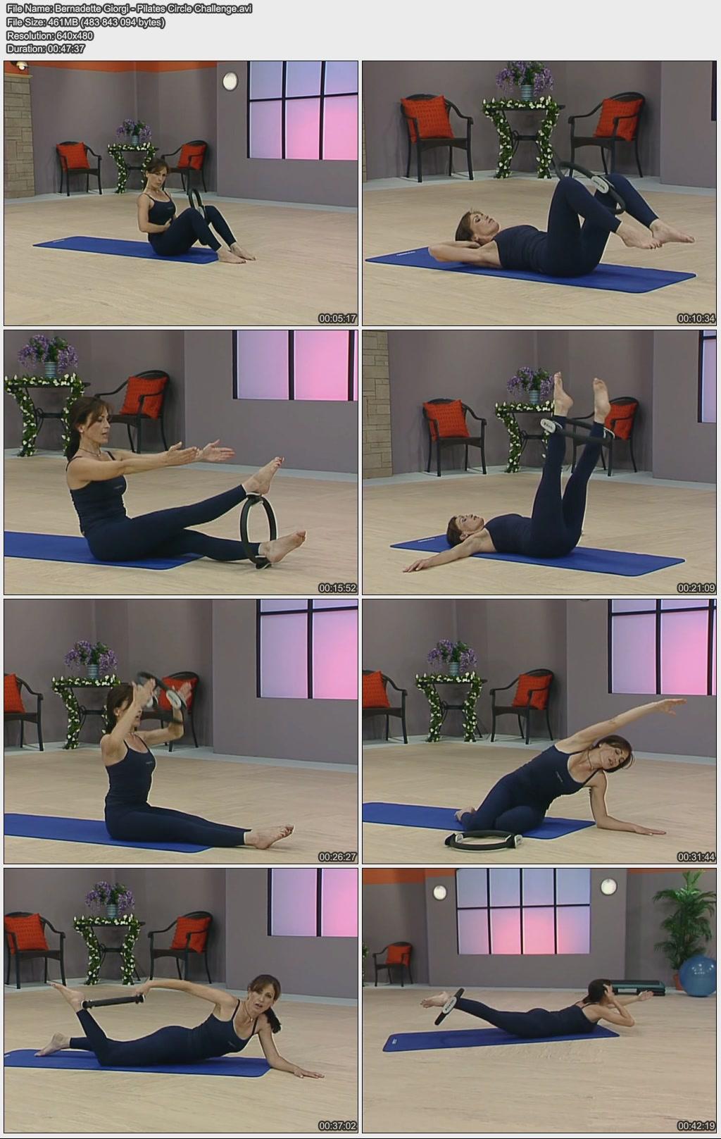 Bernadette Giorgi - Just b Method - Pilates Circle Mat Challenge