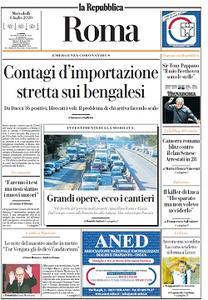 la Repubblica Roma - 8 Luglio 2020
