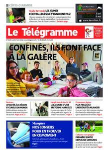 Le Télégramme Guingamp – 27 avril 2020