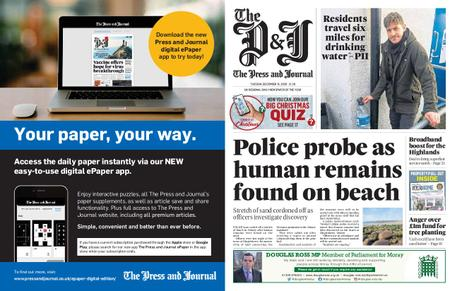 The Press and Journal Moray – December 15, 2020