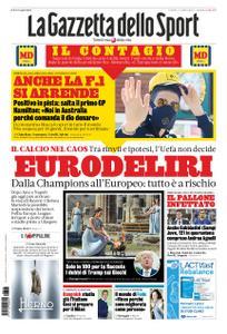 La Gazzetta dello Sport Sicilia – 13 marzo 2020