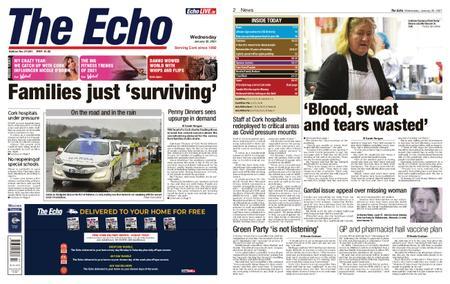 Evening Echo – January 20, 2021