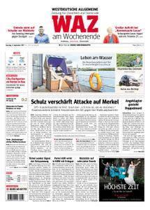 WAZ Westdeutsche Allgemeine Zeitung Oberhausen-Sterkrade - 09. September 2017