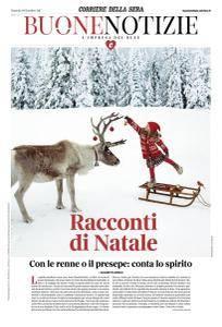 Corriere della Sera Buone Notizie - 19 Dicembre 2017