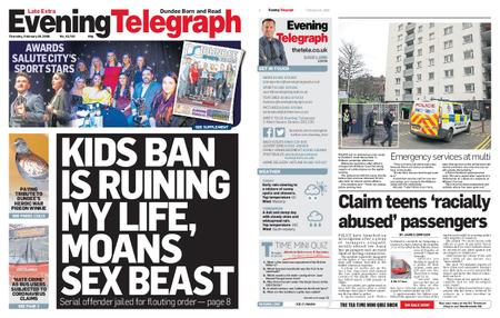 Evening Telegraph First Edition – February 20, 2020