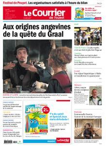 Le Courrier de l'Ouest Cholet – 19 juillet 2021