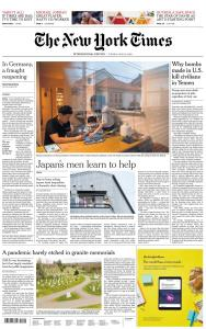 International New York Times - 19 May 2020