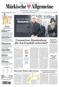 Märkische Allgemeine – 28 Januar 2020