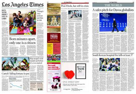 Los Angeles Times – January 27, 2018