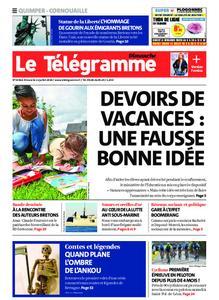 Le Télégramme Ouest Cornouaille – 12 juillet 2020