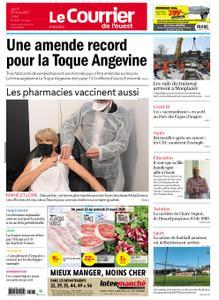 Le Courrier de l'Ouest Angers – 25 mars 2021