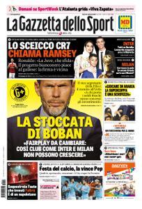 La Gazzetta dello Sport Sicilia – 04 gennaio 2019