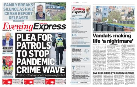 Evening Express – April 20, 2021