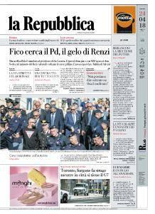 la Repubblica - 24 Aprile 2018