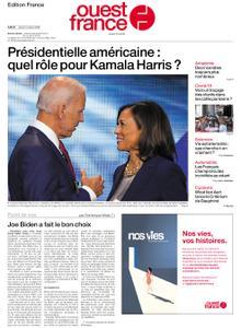 Ouest-France Édition France – 13 août 2020