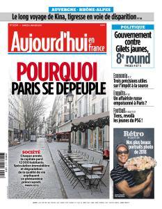 Aujourd'hui en France du Samedi 5 Janvier 2019