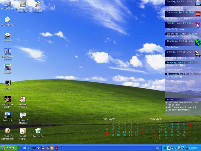 Active Desktop Calendar 5.99b Build 060412