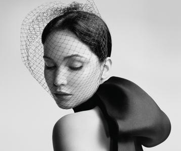 Jennifer Lawrence by Willy Vanderperre for Miss Dior Spring/Summer 2013