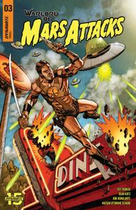 Warlord of Mars Attacks 003 2019 4 covers Digital DR & Quinch