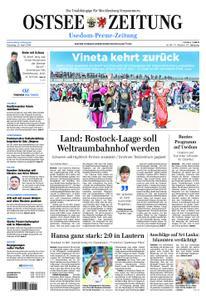 Ostsee Zeitung Wolgast - 23. April 2019
