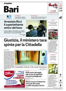 la Repubblica Bari – 23 aprile 2019